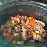 Beef Bourguignon in de slowcooker